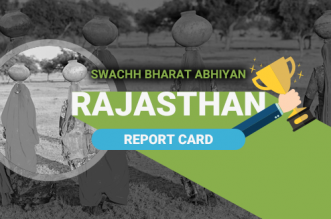 Rajasthan sanitation report card