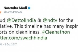 Prime Minister Narendra Modi Lauds Banega Swachh India's 12-Hour Cleanathon On Gandhi Jayanti