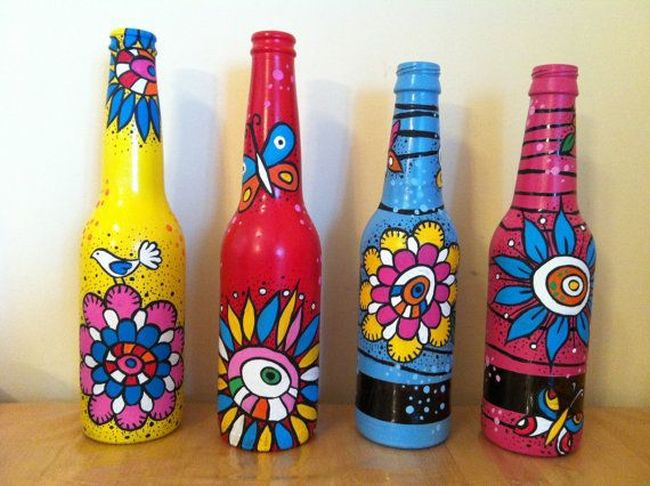 Celebrate waste free diwali top 5 home d cor ideas to for Decorative items from waste bottles