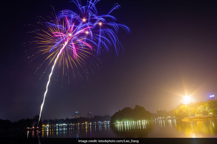 Fireworks organised only on behalf of the government are allowed in Vietnam