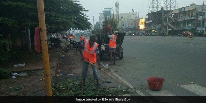 Cleanup after Diwali