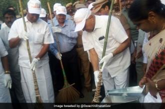 Tamil Nadu Governor spreads the Swachhta message