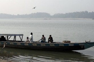 Brahmaputra River In Assam Has Changed Its Colour And Has Turned Muddy