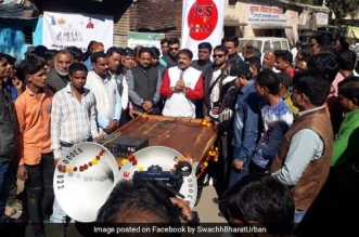Kabad se Jugaad campaign in Bhopal