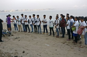 After Versova, Mumbai's Second Beach – Dadar Gets A Swachh Makeover. After 19 Weeks Of Continuous Clean-up, 100 Tonnes Of Garbage Removed