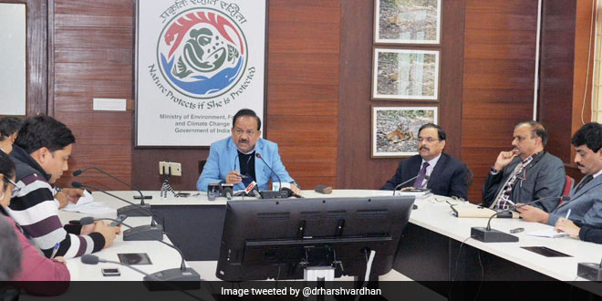Dr Harsh Vardhan plans to reduce air pollution by 50 per cent in 100 cities
