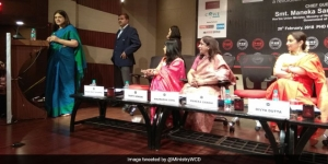 Union Minister Maneka Gandhi Launches The #YesIBleed Campaign, Talks About The Need To Change Mindsets On Menstruation