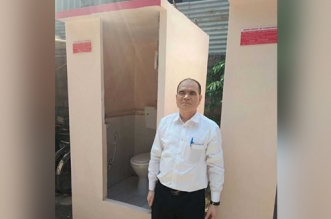 This Swachh Warrior From Pune Builds Portable Thermocol Toilets In Just Two Hours