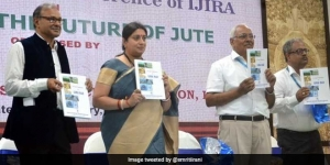 Textile Minister Smriti Irani Lauds Sanitary Napkins Made Of Jute As A Healthy And Cost-Effective Alternative