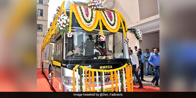 Mumbaikars Receive An Eco-Gift In The Form Of 25 Hybrid Electric Buses