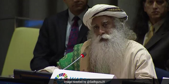 #WorldWaterDay Mobilise Humanity To Save Rivers, Says Sadhguru Jaggi Vasudev