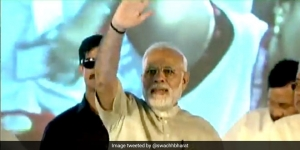 Narendra Modi Addresses 20,000 'Swachhagrahis' In Bihar As <i>Chalo Champaran</i> Comes To An End