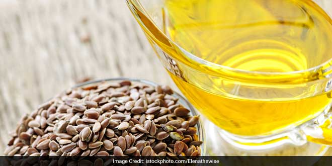 Flaxseed oil is rich in fatty acid