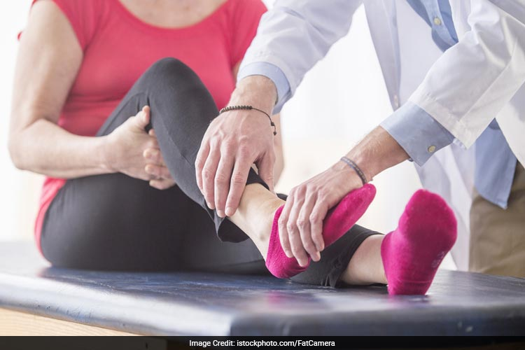 Ankle stretch reduces the risk of blood clots