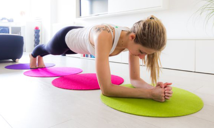 plank home workout health matters