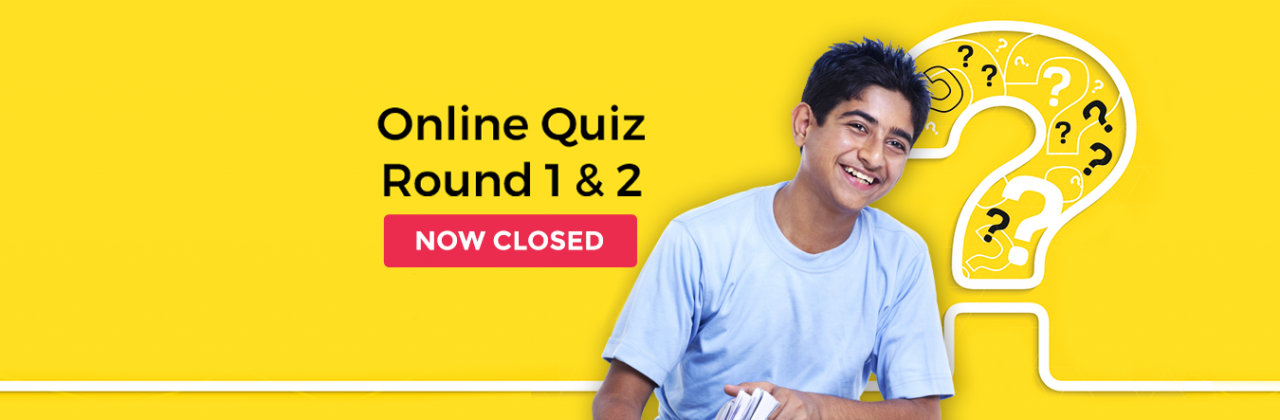 Registrations And Online Quiz Rounds Are Now Closed