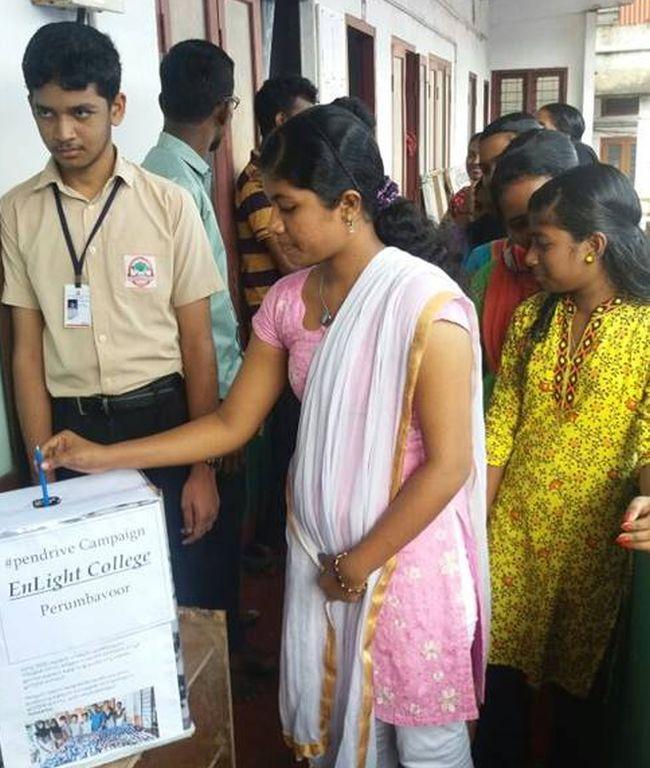 Say No To Plastic Kerala Wages a War On Plastic With A Pen Drive - lakshmi menon 2