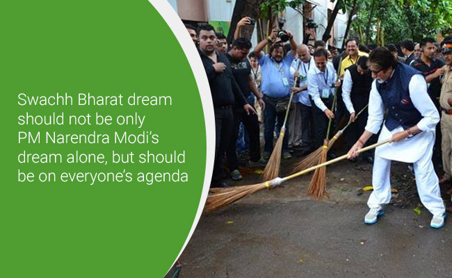 #MyCleanIndia: These Celebrities Are Spreading The Swachh Message