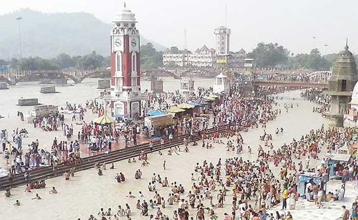 Efforts have been made to clean up Ganga