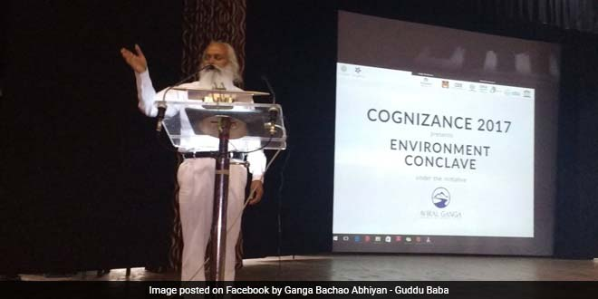 Named 'Aviral Ganga', the campaign by IIT-Roorkee students highlights the degradation of the river and the alarming level of its exploitation despite the Centre's efforts to clean it