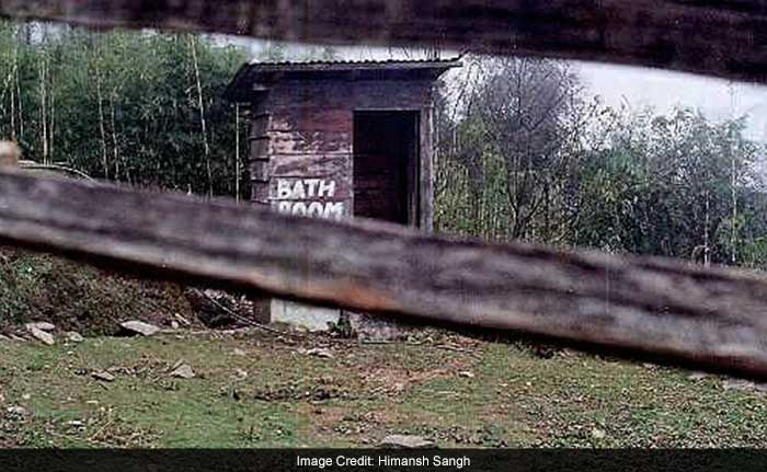 Toilets which were insanitary in nature were converted into a covered pit sewage system