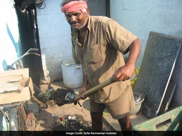 The sewerage system in India has added to the problems of manual scavengers