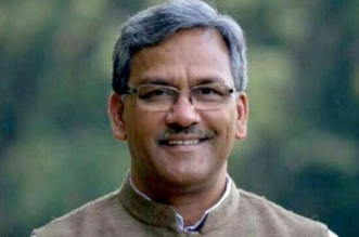 Uttarakhand Chief Minister Picks Up A Broom To Clean Ganga Ghats