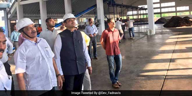 Maharashtra Chief Minister Devendra Fadnavis Impressed By Goa's Waste Management Technology