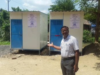 Low Cost Bio-Toilets That Need No Water. An Engineer Brings Change To Rural Maharashtra