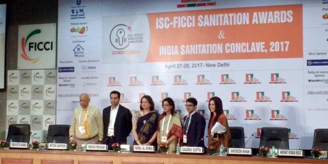 The involvement of the private sector was a talking point at the India Sanitation Conclave