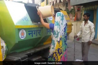 Indore is India's cleanest city