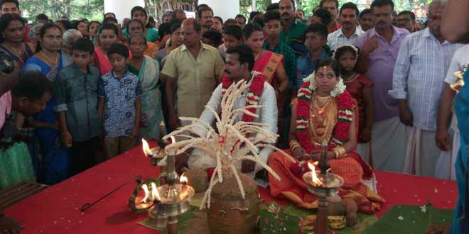 This Couple Organised An Eco-Friendly Wedding In Kerala And It Is Nothing Less Than An Inspiration