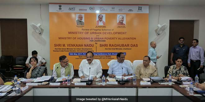 Ranchi To Become Open Defecation Free By October 2: M Venkaiah Naidu
