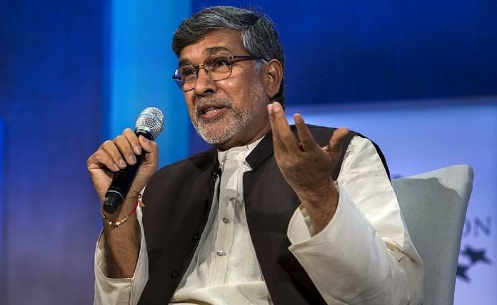 Nobel Peace Laureate Kailash Satyarthi PM Modi Child Slavery India Drought