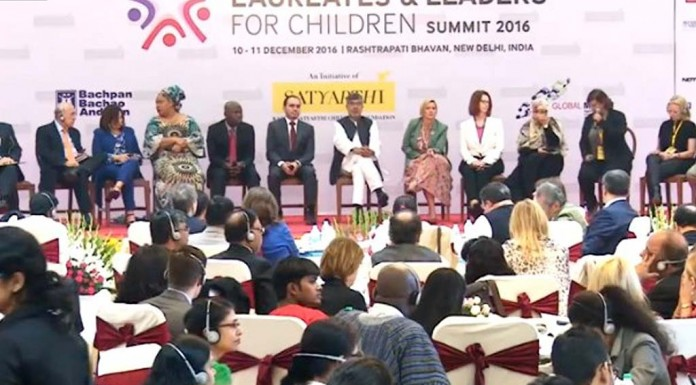 Nobel Laureates, Leaders Gather To Push Child Slavery Onto Global Agenda