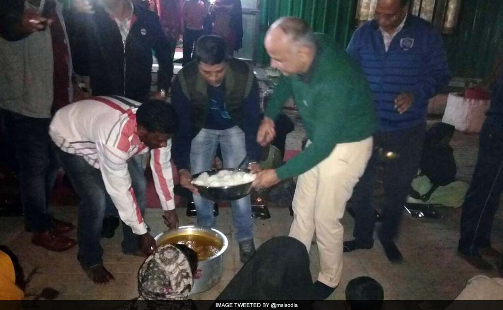 No one will be a victim of starvation, says Deputy Chief Minister Manish Sisodia.