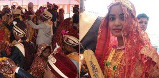 At A Mass Wedding, Minister Gifts Bats To Brides To Fix Drunkard, Abusive Husbands