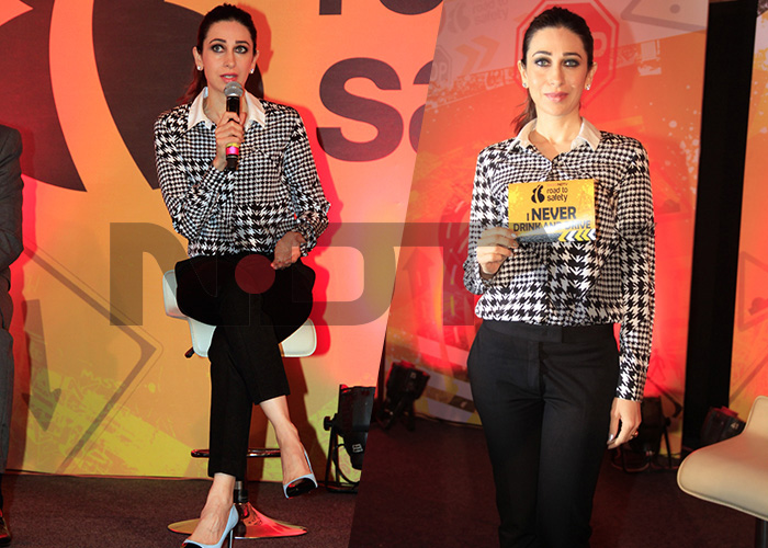 Karisma Kapoor Launches the Road To Safety Campaign