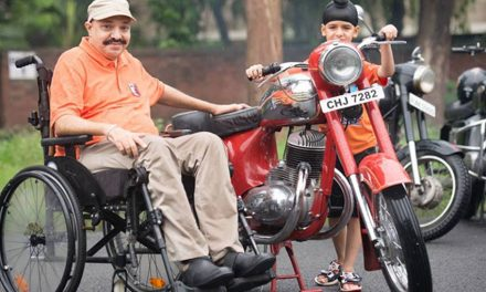 A Road Accident Left Him Paralysed; He's Now Fighting For Road Safety