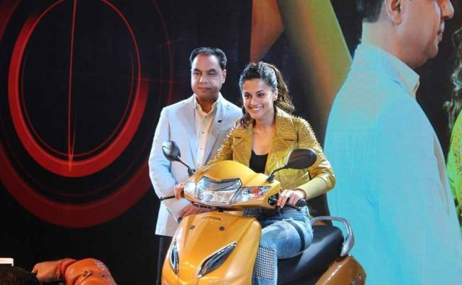 Wear A Helmet And Be Safe, Because Someone Out There Is Waiting For You And Wants You To Reach Home Safely: Taapsee Pannu