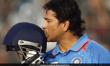 A Masterstroke For The Master Blaster: Mumbai Police's Unique Message On Road Safety As A Homage To Sachin Tendulkar On His Birthday