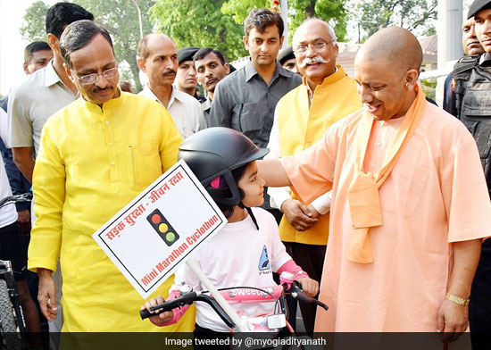 Chief Minister Yogi Adityanath Directs Authorities To Make Use Of Helmets, Driving With Seat Belts Mandatory In Uttar Pradesh