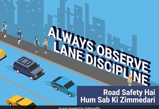 With #RoadSafetyHumSabKiZimmedari  As Their Motto, Delhi Traffic Police Is Doing Their Bit To Make India's Roads Safer