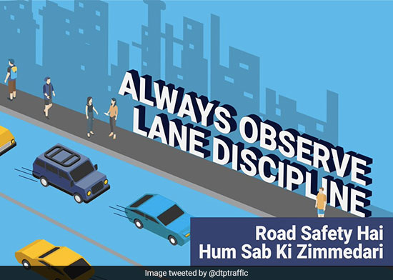 With #RoadSafetyHumSabKiZimmedari  As Their Motto, Delhi Traffic Police Is Doing Their Bit To Make India's Roads Safer