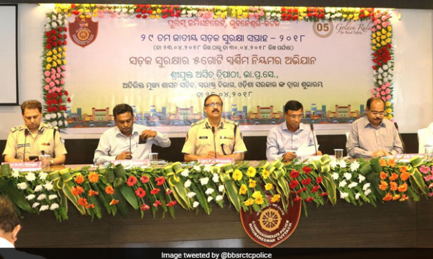 To Minimise Road Accidents And Promote Safe Driving Culture, A Year-Long Road Safety Campaign Launched In Odisha's Capital Bhubaneswar