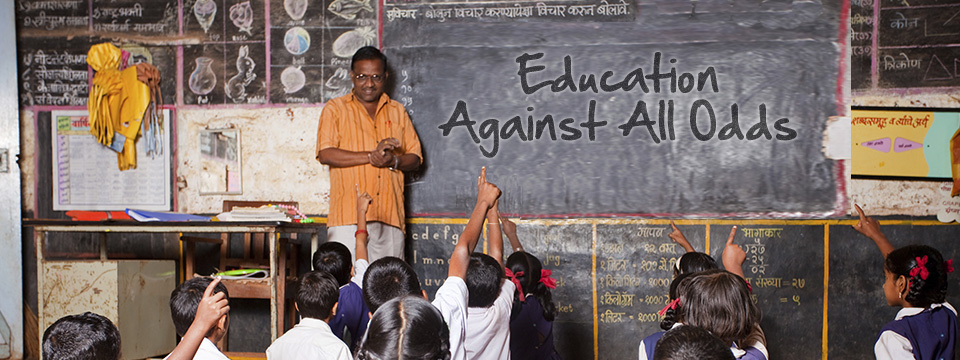 Education Against All Odds – Slider
