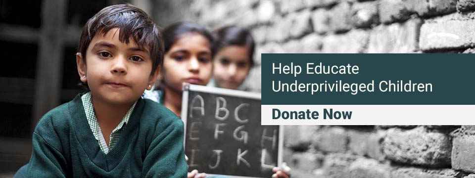 Help Educate Tribal Children, Donate Here