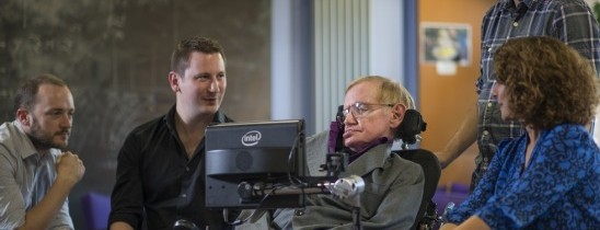 How Intel Keeps Stephen Hawking Talking with Assistive Technology (Advertorial)