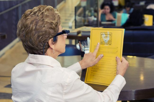 Augmented Reality Applications Helping the Blind to See7