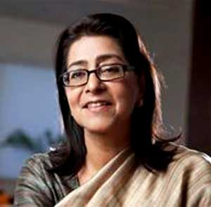 Naina Lal Kidwai Chairman  India Director HSBC Asia Pacific ndtv india innoavtes